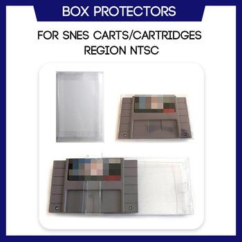 Etui ochronne do SNES na kasetę Super Nintendo Cart NTSC na zamówienie obudowa z tworzywa sztucznego tanie i dobre opinie zxldeals Brak