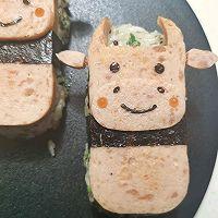 牛牛午餐肉饭团的做法图解8