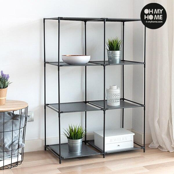 Oh My Home Metal Shelving Unit (8 Shelves)
