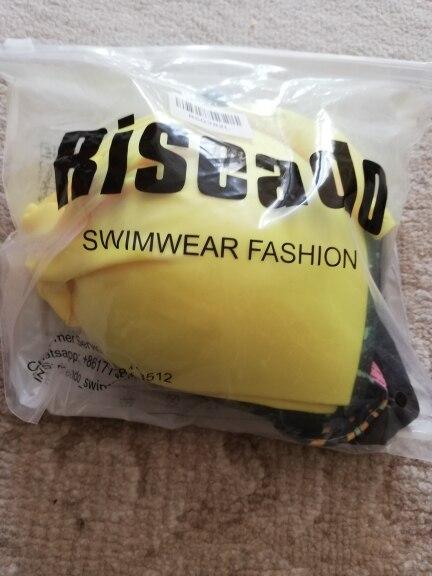 Riseado Push Up Bikini Set Patchwork Swimsuits Ruched Swimwear Women Sexy Bikini 2021 Biquini Strap Yellow Beach Wear Summer XXL|Bikini Set|   - AliExpress