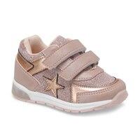 Flo estrela em pó feminino criança sapatos esportivos balão-s
