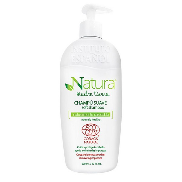 Moisturizing Shampoo Natura Madre Tierra Ecocert Instituto Español (500 Ml)