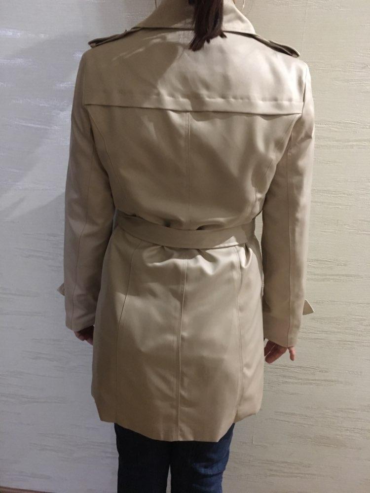Trench Coat-Women-Slim-Long-Spring Autumn