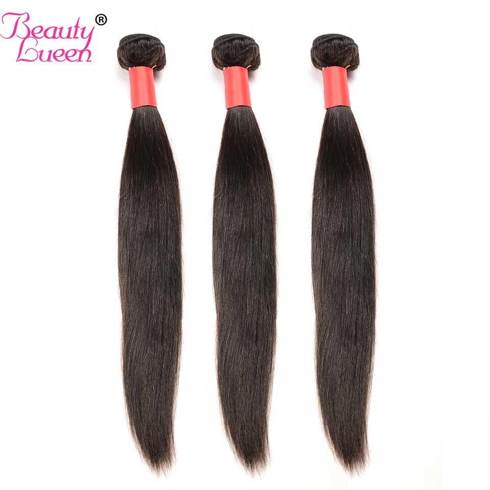 Straight Hair Bundles Brazilian Hair Weave Bundles 3 Bundles Deals Human Hair Bundles Non Remy Beauty Lueen Hair Extensions