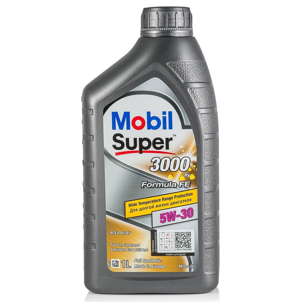 Моторное масло MOBIL SUPER 3000 X1 Formula FE 5W30 1L (152565)