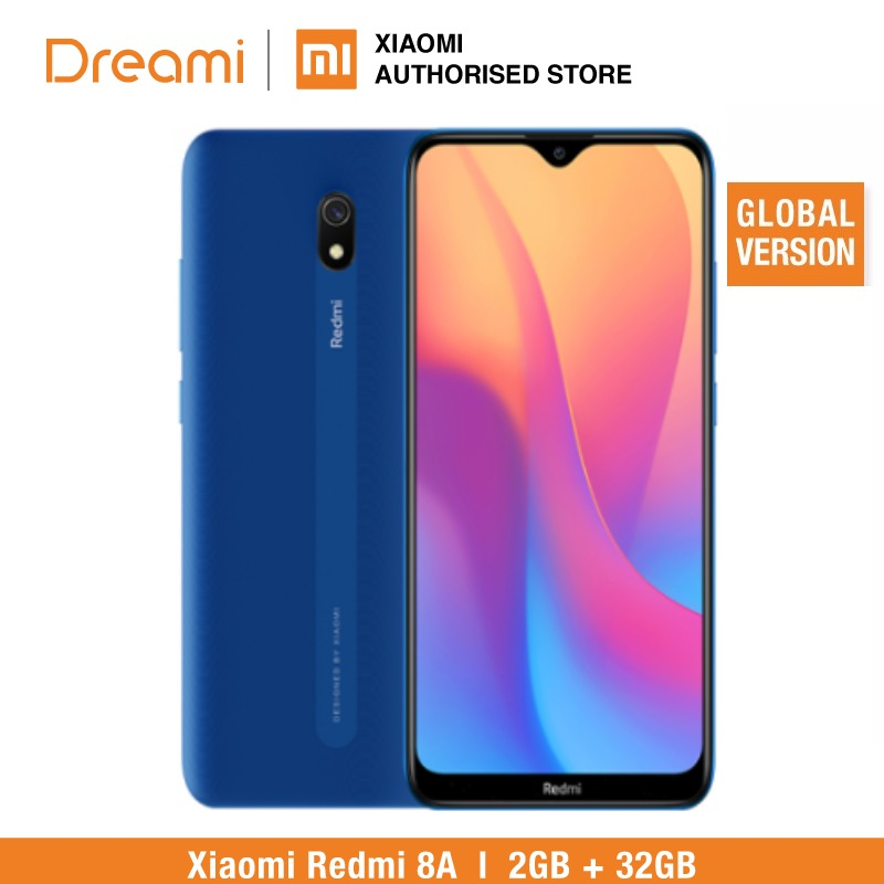 Global Version Xiaomi Redmi 8A 32GB ROM 2GB RAM (LATEST ARRIVALS!!) 8a32gb