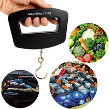 Portable Scale 50kg/10g Electronic Hanging Scale Digital Balance for Large Parcel Weighing Luggage Kitchen Weight Scales Precise цена