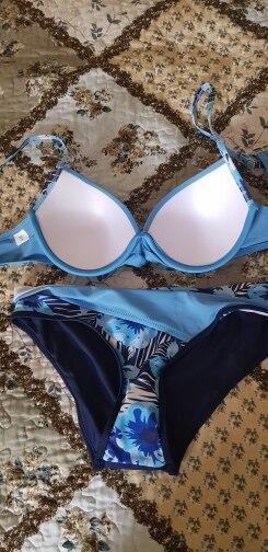 Riseado Push Up Bikini Set Patchwork Swimsuits Ruched Swimwear Women Sexy Bikinis 2021 Biquini Strap Yellow Bathing Suit Summer Bikini Set    - AliExpress