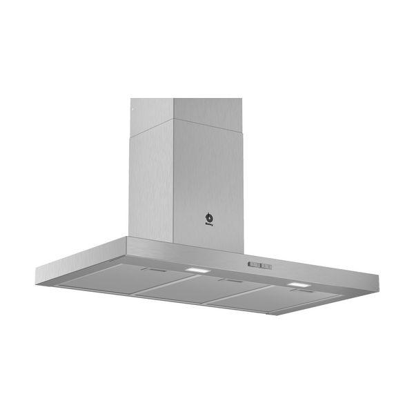 Conventional Hood Balay 3BC096MX 90 Cm 590 M3/h 70 DB 220W Stainless Steel