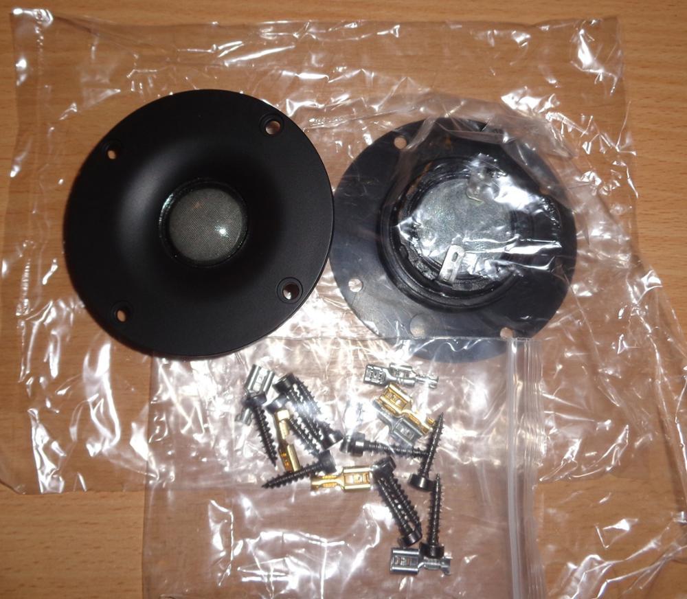 Acessórios de caixas de som polegada unidade falante