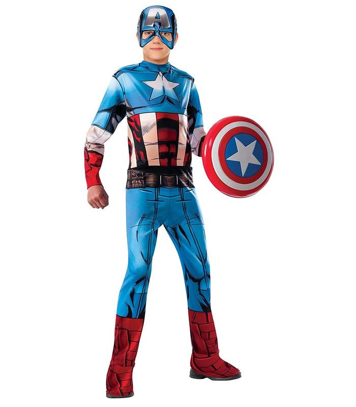 Disguise Captain America Classic Avengers Toy Store