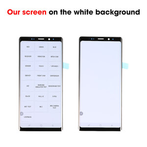 Image 2 - 100% Ori per SAMSUNG Galaxy Note 8 9 Display OLED Super AMOLED Display LCD Touch Screen Digitizer Assembly sostituzione nuovo OEM