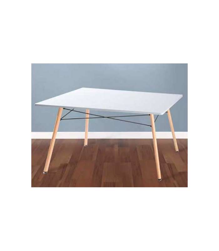 Dining Table Dartboard White