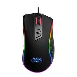 LED Gaming Mouse Mars Gaming MM218 10000 dpi Black