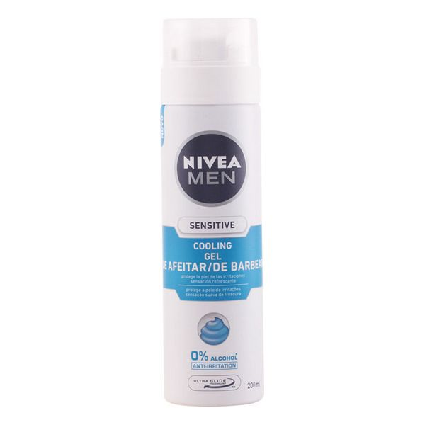 Shaving Gel <font><b>Men</b></font> Sensitive Cool <font><b>Nivea</b></font> image