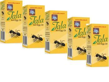 5 pcs %100 Original Tala Ant EGG OIL 20ml 0.7oz Natural Organic Hair Removal, reduction, eradicate egg organic маска