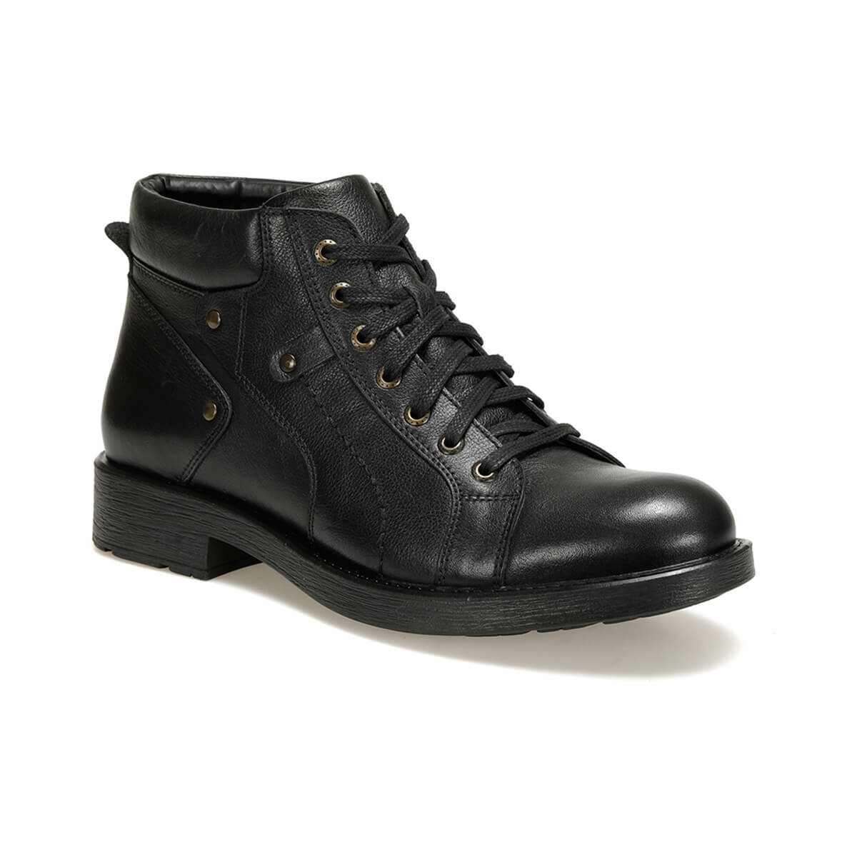 FLO 400-M Black Men Boots Oxide