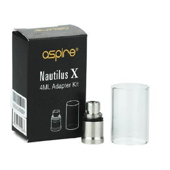 Vetrino di ricambio per Aspire Nautilus X 4 ml con Adattatore Vetro ORIGINALE
