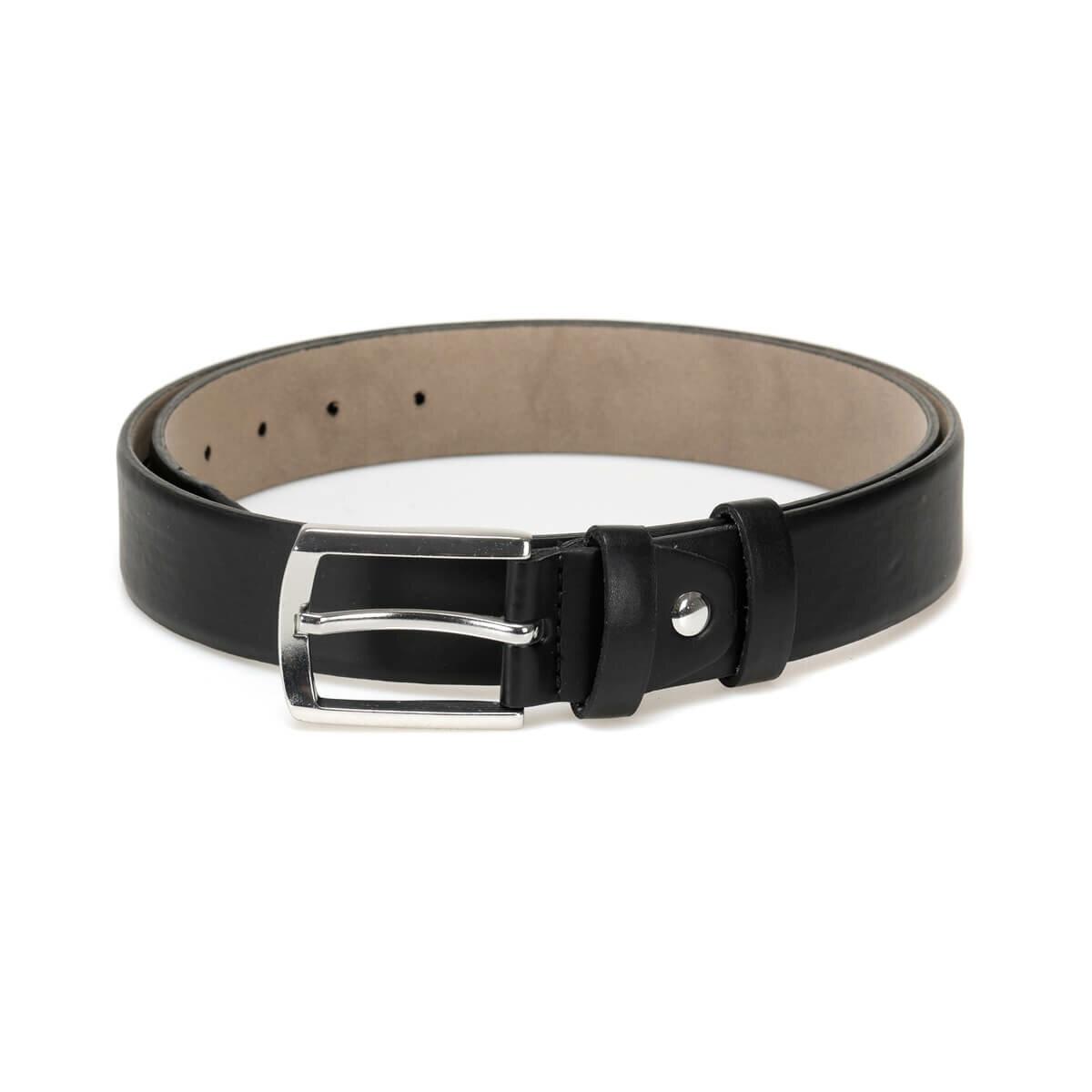 FLO MBRA3505 Black Male Belt Garamond