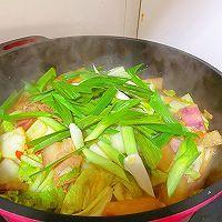 此季节最馋人的㊙️五花肉炖萝卜白菜的做法图解13