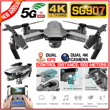 SG907 4K 1080P Video Gimbal Full HD Dual Camera RC Drone FPV GPS 5G WIFI Quadcop