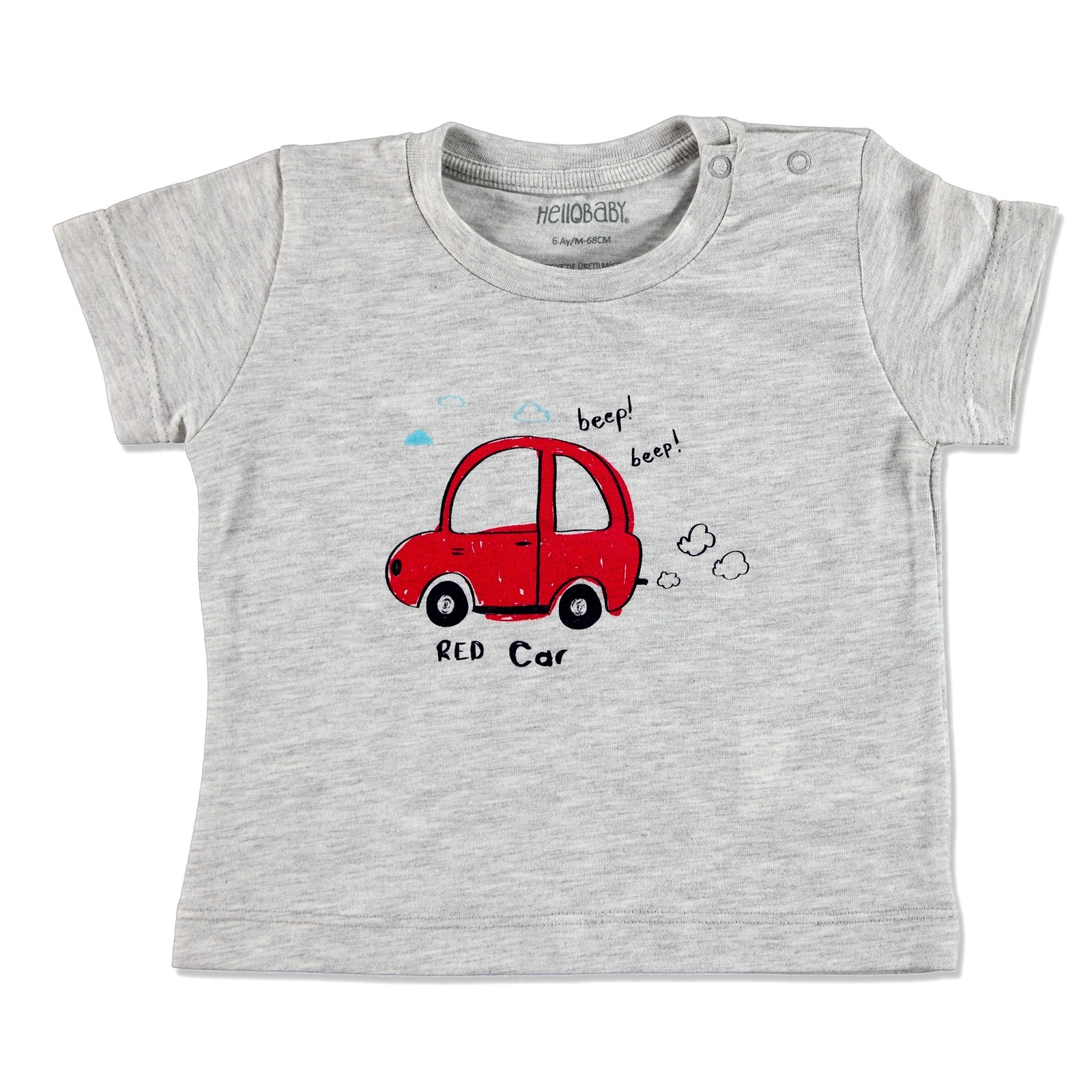 Ebebek HelloBaby Summer Basic Baby Short Sleeve T-shirt