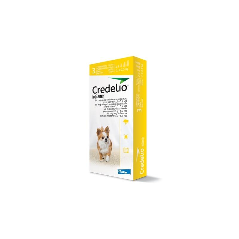 Credelio  3  Comprimidos Masticables Para Perros  ELANCO