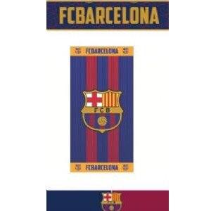 Barcelona toalla escudo franja amarilla