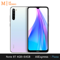 Xiaomi Redmi Note 8T Smartphone(4GB RAM 64GB ROM NFC Free mobile phone New android 4000mAh battery) [Global Version] 3