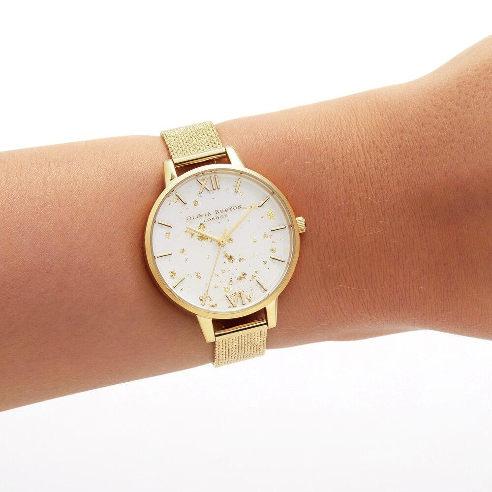 Наручные часы Olivia Burton OB16GD15 женские кварцевые на браслете
