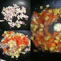 蕃茄土豆肥牛的做法图解3
