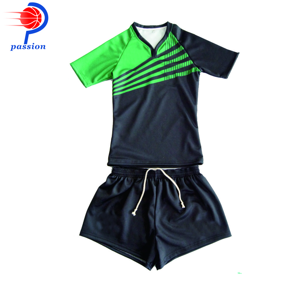 2021 New Ddesign Breathable Quick Dry Rugby Jersey for Club