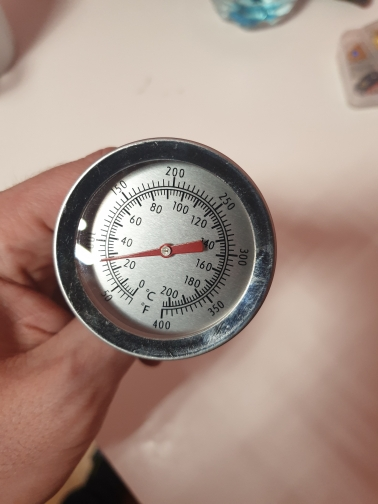 Stainless Steel Oven Cooking Kitchen Thermometer photo review