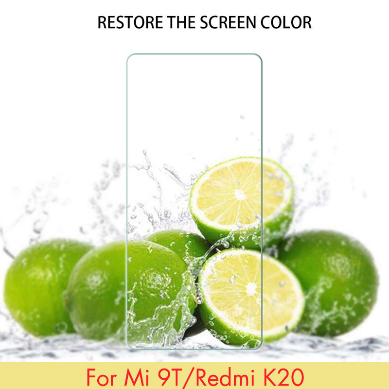 Glass Screen Protector For Mi 9T / 9T PRO Redmi K20 / K20 PRO Blue Silicone Anti-Scratch Full Protection Lightweight Soft