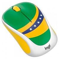 Mouse Sem Fio Logitech M238 Copa Do Mundo Edição Brasil P/n: 910-005398