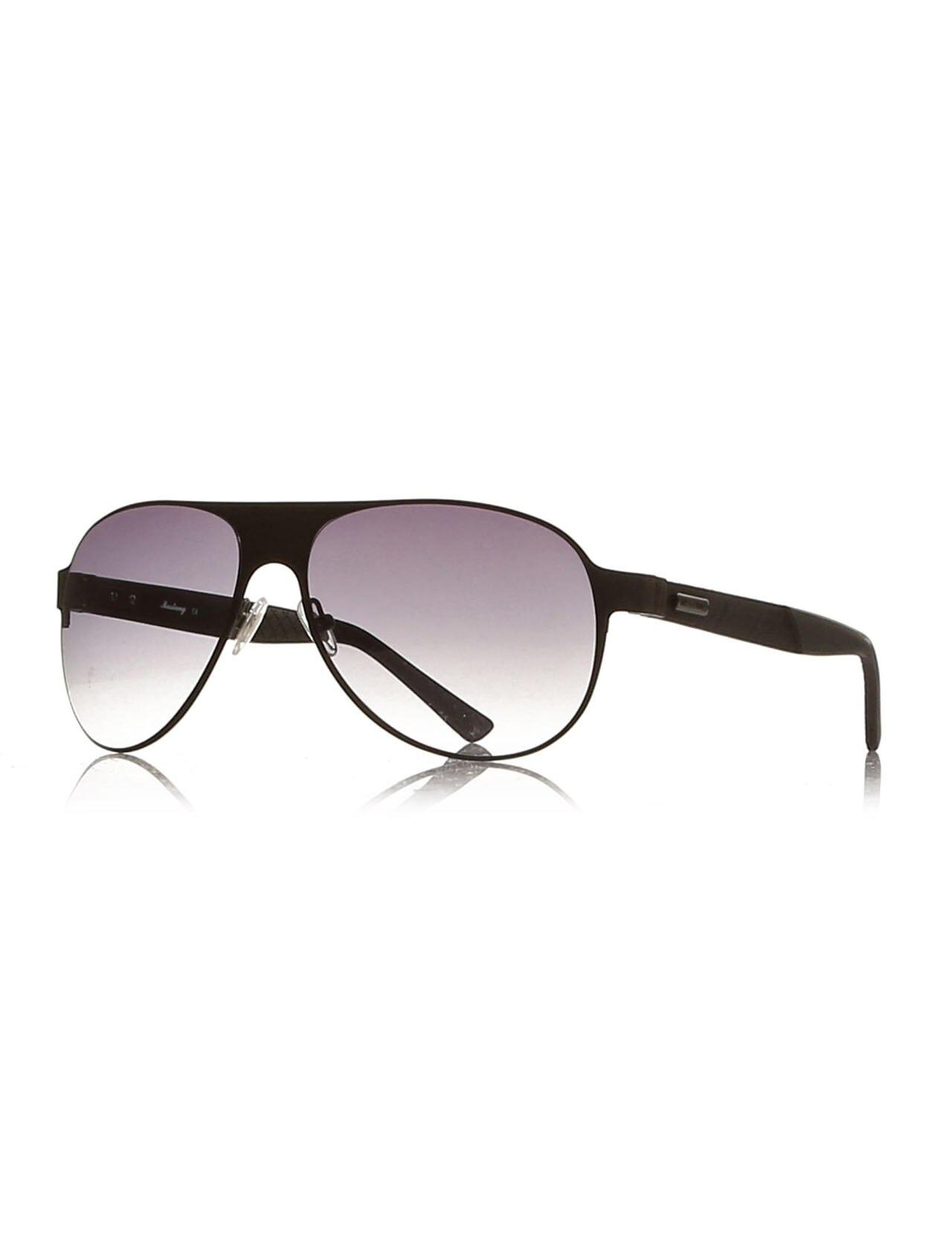 Men's sunglasses mu 1461 02 ultem metallic organic drop pilot 60-15-140 mustang