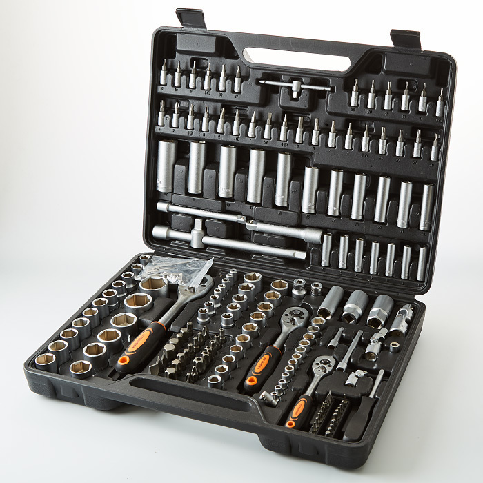 Tool Kit In Case кузьмич 172 Item ник-016/172