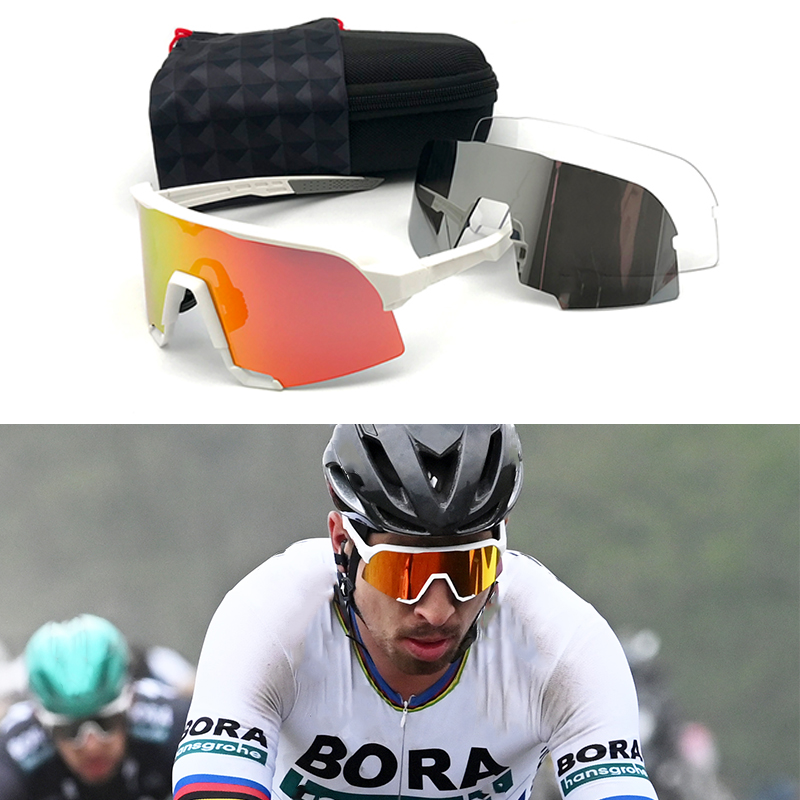Peter Sunglasses Polarized Sport Eyewear Road Racing Cycling Glasses Photochromic Speed Sagan Mtb Glasses Bicycle Speedcraft