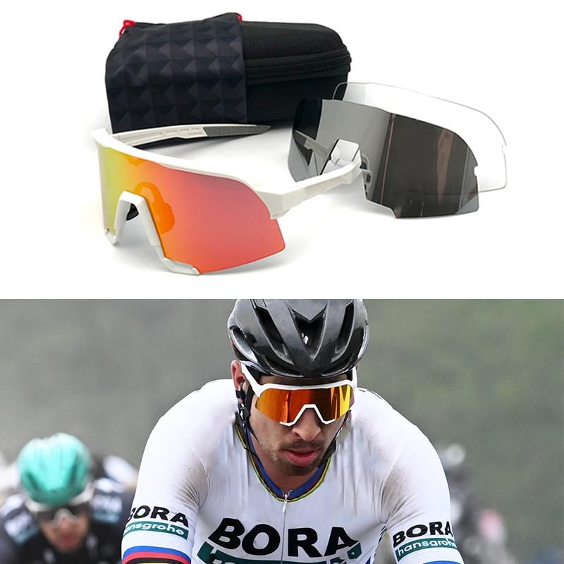 Peter Sunglasses Polarized Sport Eyewear Road Racing Cycling Glasses Photochromic Speed Sagan Mtb Glasses Bicycle Speedcraft