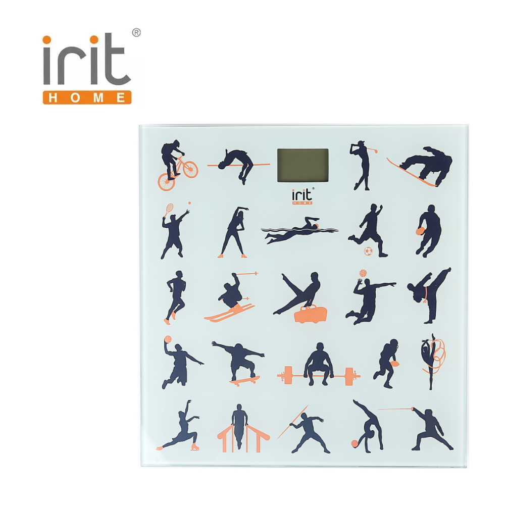 Scale floor Irit IR-7261 Scale floor Scale smart Electronic body Scales for weighing human scales body weight