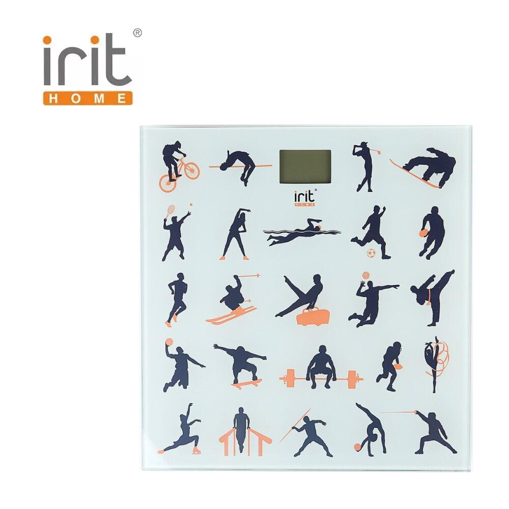 цены на Scale floor Irit IR-7261 Scale floor Scale smart Electronic body Scales for weighing human scales body weight в интернет-магазинах