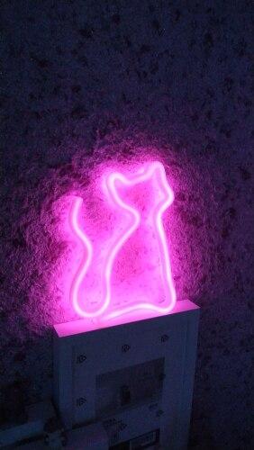 Lâmpadas de néon e tubos Feriado Decorações Colorful