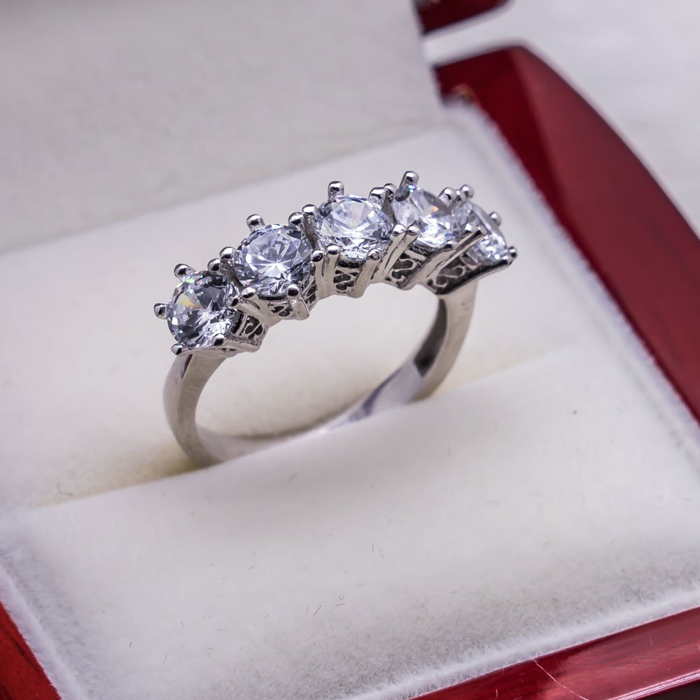 925 sterling Silver Dibs Lady Ring Model 9()