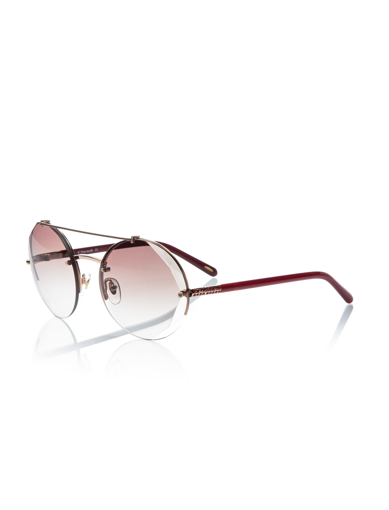 Women's sunglasses os 2583 04 metal gold polycarbonate round round 60-20-135 osse