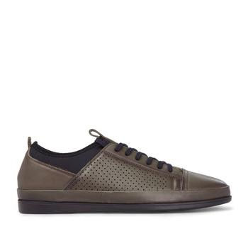 F Marcetti buty buty męskie 4957901400 tanie i dobre opinie F MARCETTI Prawdziwej skóry