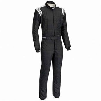 S001128260NRBI-Dungarees R-506 Conquest Size 60 Black/White Sparco