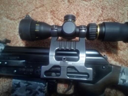 Lunetas Riflescopes Vermelho 3-12x32 Atirador