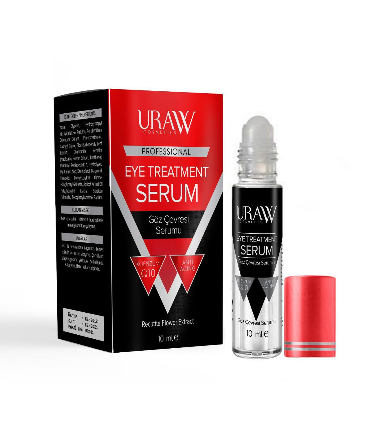 URAW EYE ENVIRONMENT SERUM Helps Reduce Fine Lines And Increase Skin Elasticity