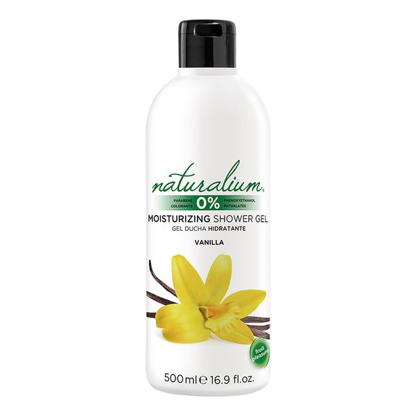 Shower Gel Vainilla Naturalium (500 Ml)