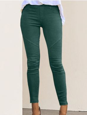 GIL008 Women High Waist Trousers Slim Fit Slim Pants M002 Autumn Sexy Female Women's Fashion Casual